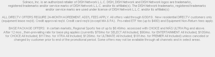 Compare Spectrum Cable vs DIRECTV and DISH