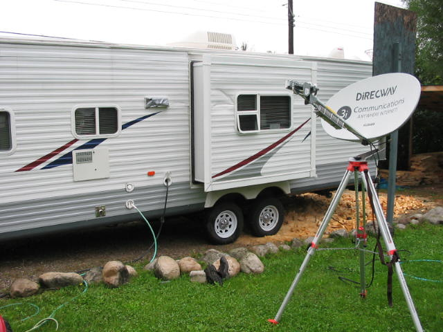 Rv And Mobile Satellite Tv Service Antennas And More