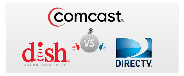 Compare Comcast Vs Directv And Dish