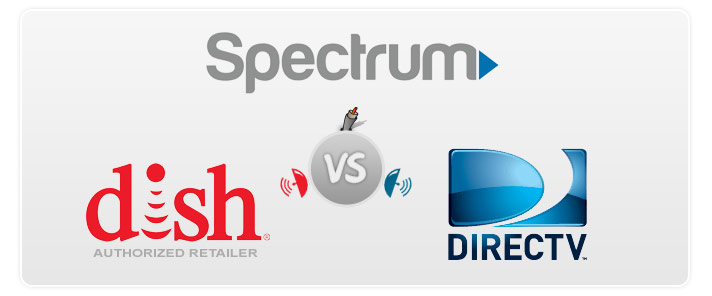 Direct Tv Internet Review >> Compare Spectrum Cable Vs Directv And Dish